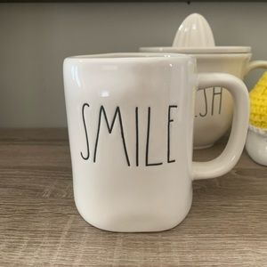 Rae Dunn Smile LL Mug